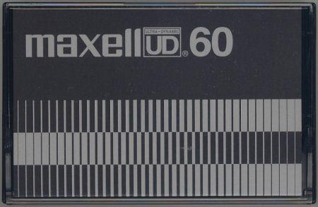 「stereo」誌付録 maxell UD60FM_f0232256_14145120.jpg