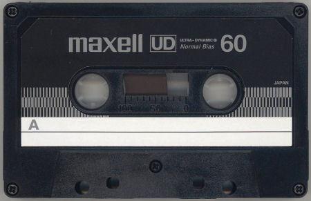 「stereo」誌付録 maxell UD60FM_f0232256_14145607.jpg