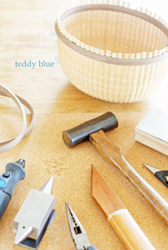 Nantucket baskets making tools  バスケット作りのお道具_e0253364_17100546.jpg