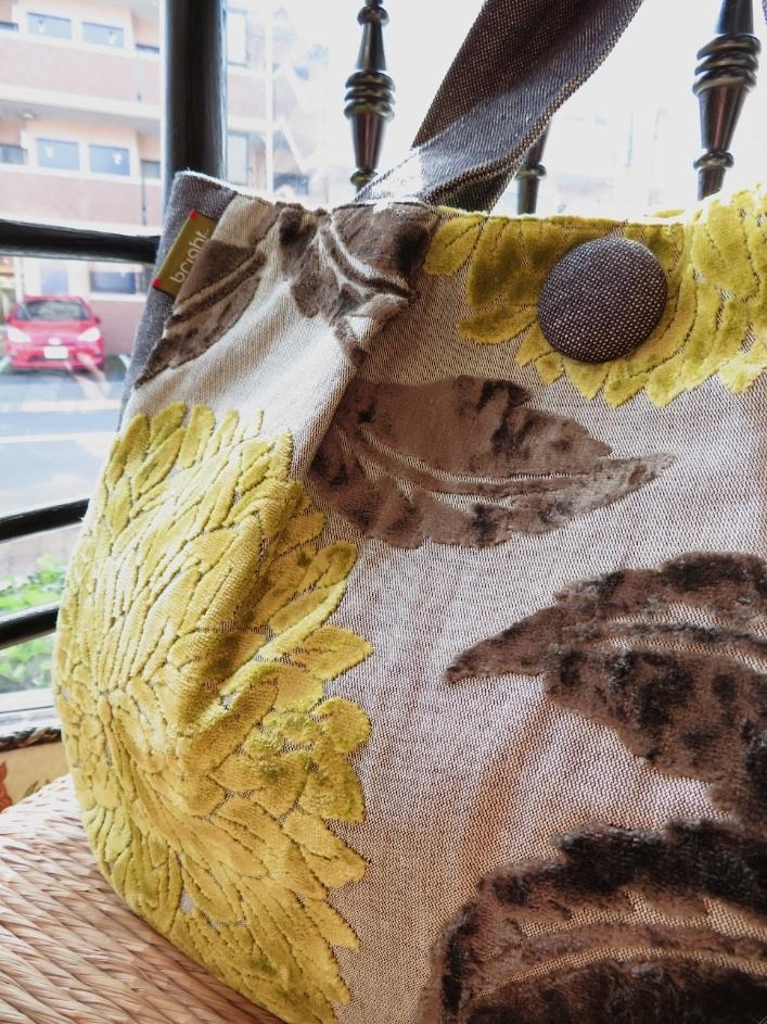 サンダーソン バッグ『セレス ベルベット』 ウィリアムモリス正規販売店のブライト_c0157866_20174080.jpg