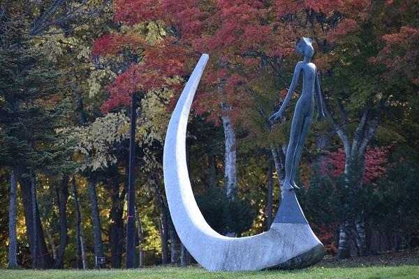 街角美術館  洞爺湖彫刻公園(後半)に行きました。_f0362073_08575795.jpg