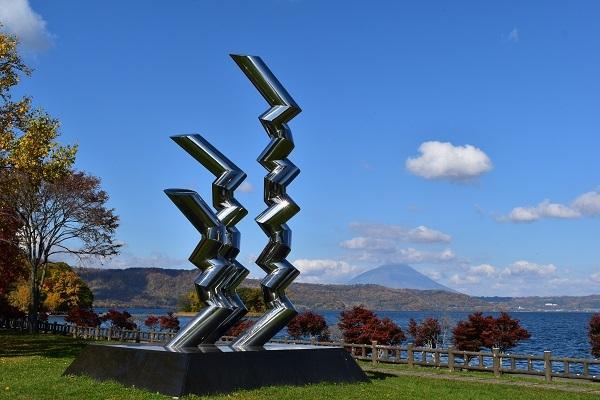 街角美術館  洞爺湖彫刻公園(後半)に行きました。_f0362073_08582466.jpg