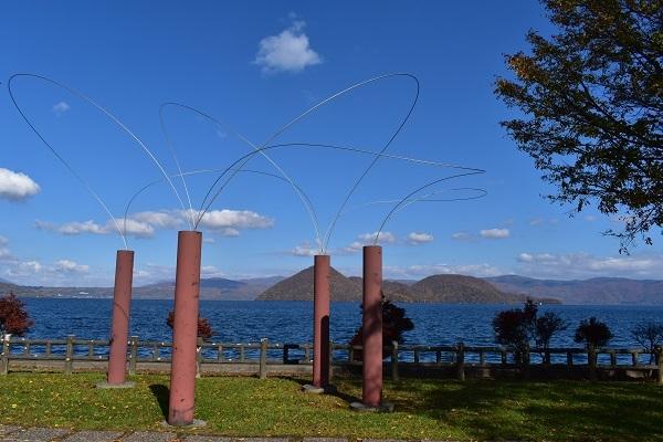 街角美術館  洞爺湖彫刻公園(後半)に行きました。_f0362073_08583774.jpg