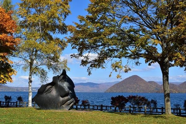 街角美術館  洞爺湖彫刻公園(後半)に行きました。_f0362073_08585604.jpg