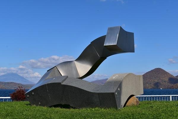 街角美術館  洞爺湖彫刻公園(後半)に行きました。_f0362073_09011671.jpg