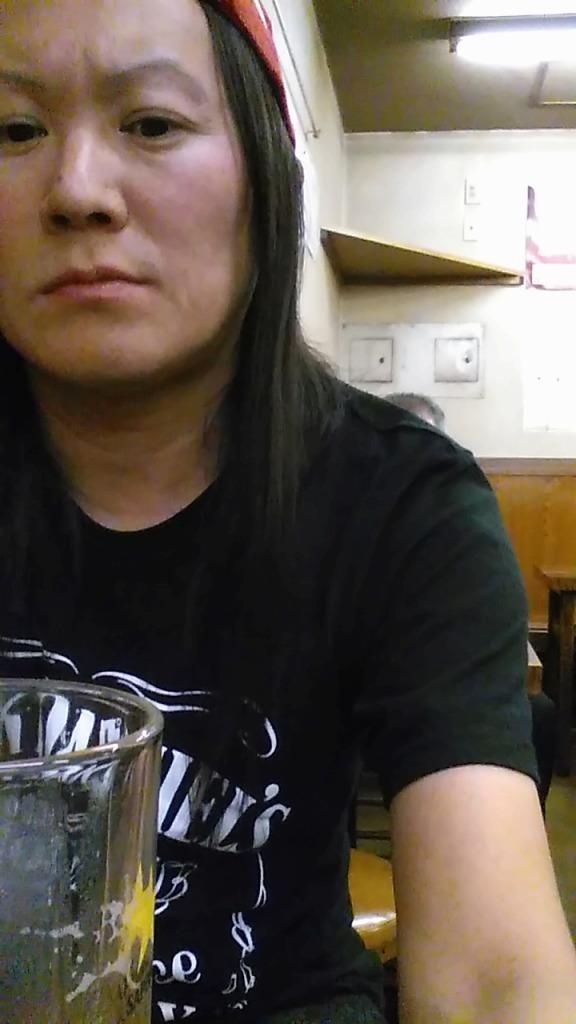 キョータロー氏とジンギスカン義経~豊田屋&天一、その前に一人HUB_d0061678_13121410.jpg