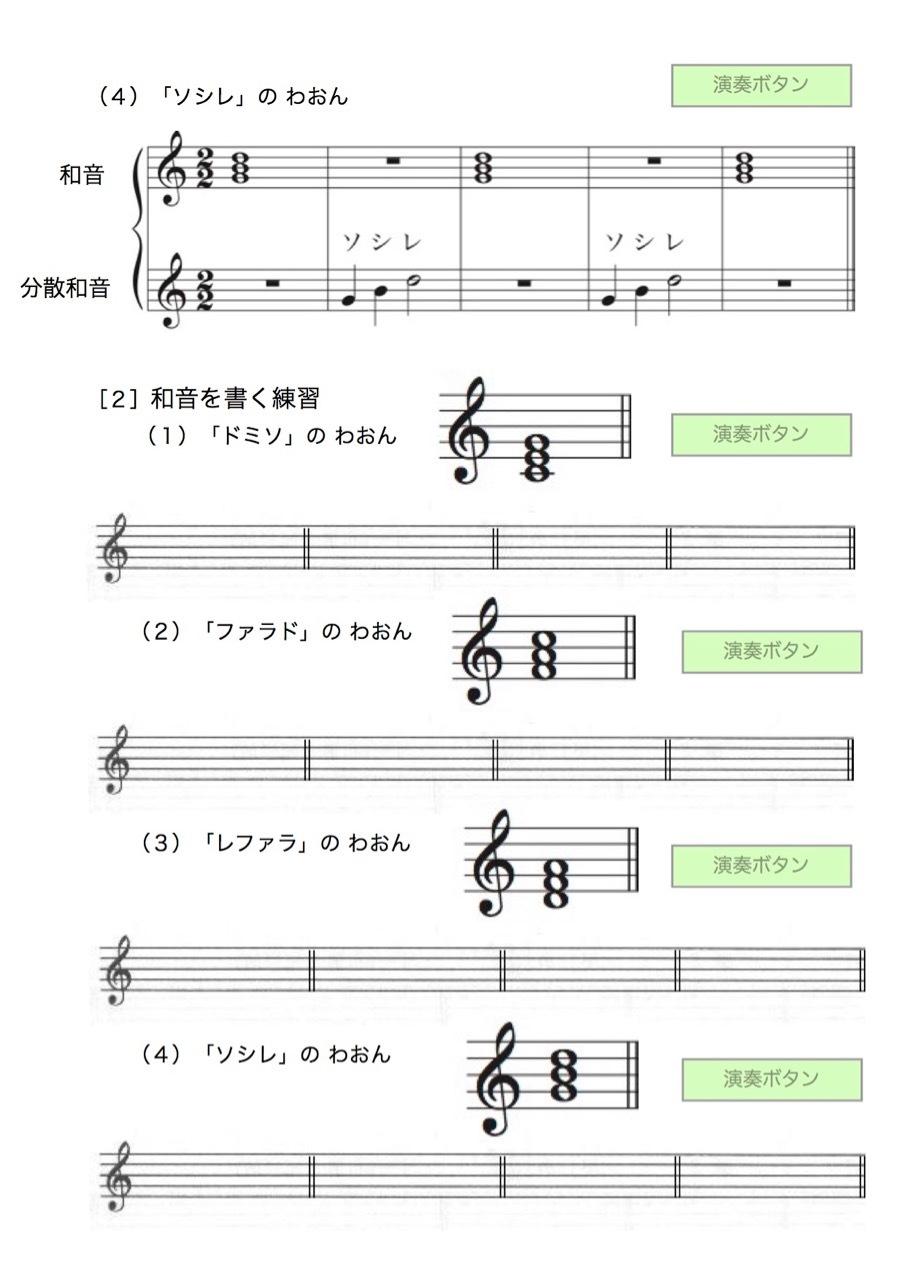 <お母さんと幼児の為の楽典>-35 「和音聴音への導入」-1_d0016397_14484944.jpg