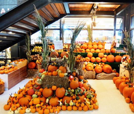 ハロウィンかぼちゃいっぱい、チェルシー・マーケット_b0007805_04121018.jpg