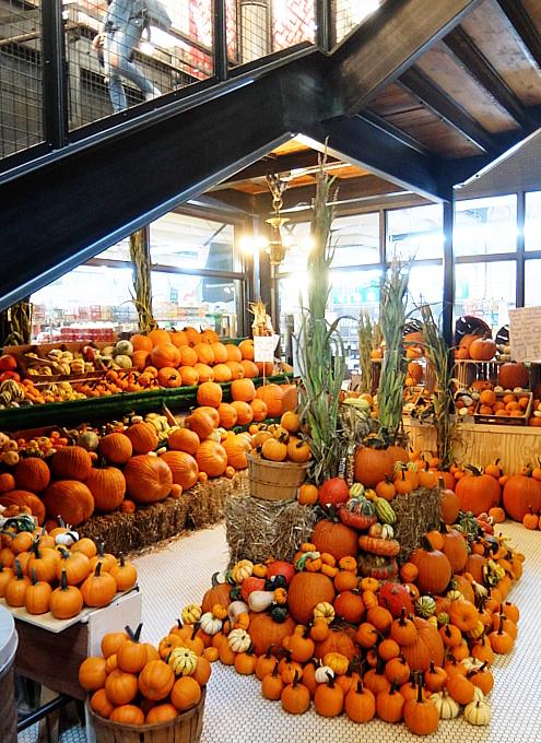 ハロウィンかぼちゃいっぱい、チェルシー・マーケット_b0007805_04123277.jpg