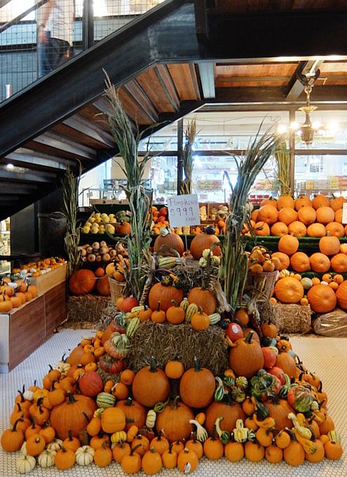 ハロウィンかぼちゃいっぱい、チェルシー・マーケット_b0007805_04130952.jpg