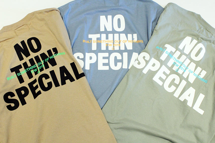 "NOTHIN\'SPECIAL (ナッシンスペシャル) "" F/W 19 LOGO LONG SLEEVE \""_b0122806_12402519.jpg"
