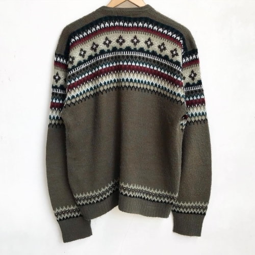 1960\'s Jacquard Knit Design Cardigan✨_a0182112_12333398.jpg