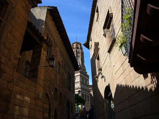 ムンジュイックの丘@バルセロナ_c0192215_19533484.jpg