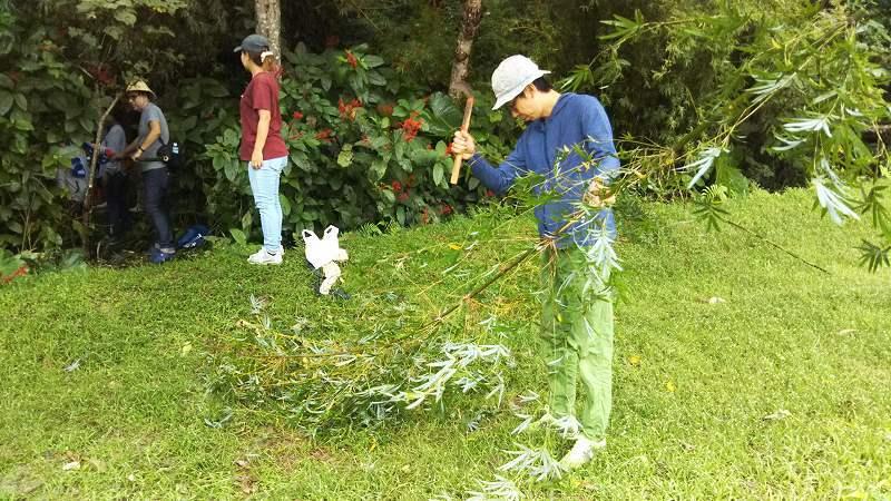 第4回 くんじゃん山学校 竹で作ろう!_f0121321_16563362.jpg