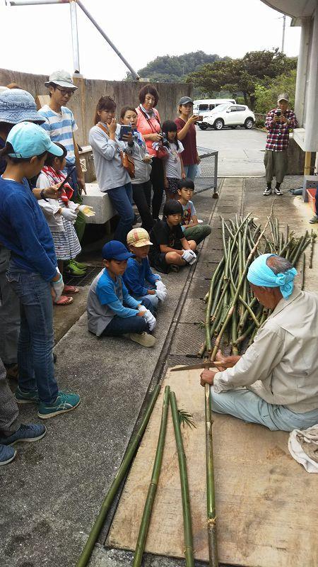 第4回 くんじゃん山学校 竹で作ろう!_f0121321_16571761.jpg