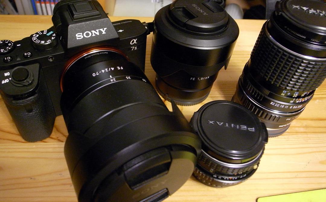 ソニーフルサイズミラーレス・α7Ⅱにカメラをスイッチ_c0223825_01475780.jpg