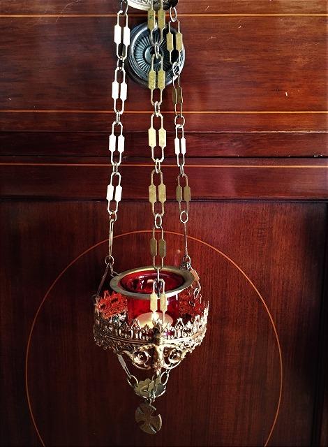 装飾メタル付き下げるキャンドルホルダー sold out!_f0112550_03514929.jpg