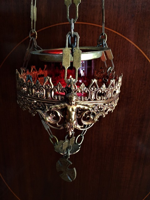 装飾メタル付き下げるキャンドルホルダー sold out!_f0112550_03514966.jpg