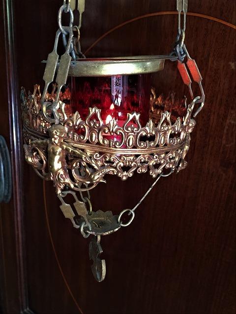 装飾メタル付き下げるキャンドルホルダー sold out!_f0112550_03515006.jpg