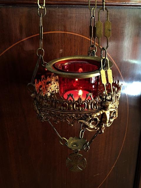 装飾メタル付き下げるキャンドルホルダー sold out!_f0112550_03515079.jpg
