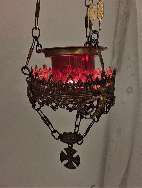 装飾メタル付き下げるキャンドルホルダー sold out!_f0112550_03522331.jpg