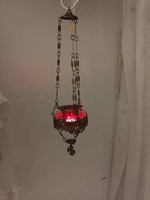 装飾メタル付き下げるキャンドルホルダー sold out!_f0112550_03522417.jpg