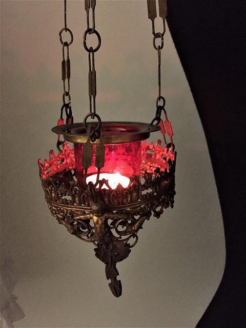 装飾メタル付き下げるキャンドルホルダー sold out!_f0112550_03522420.jpg