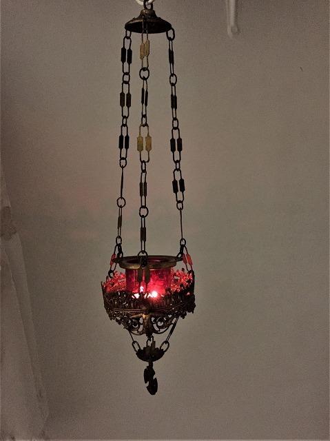 装飾メタル付き下げるキャンドルホルダー sold out!_f0112550_03522443.jpg