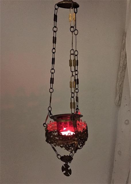 装飾メタル付き下げるキャンドルホルダー sold out!_f0112550_03522451.jpg