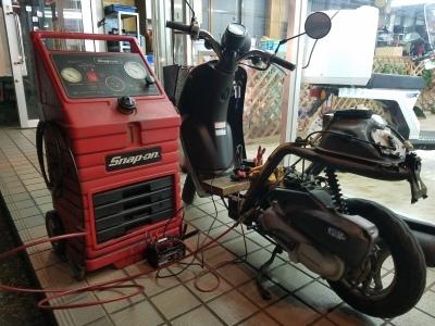 Today エンジンストップ修理_e0114857_11492331.jpg