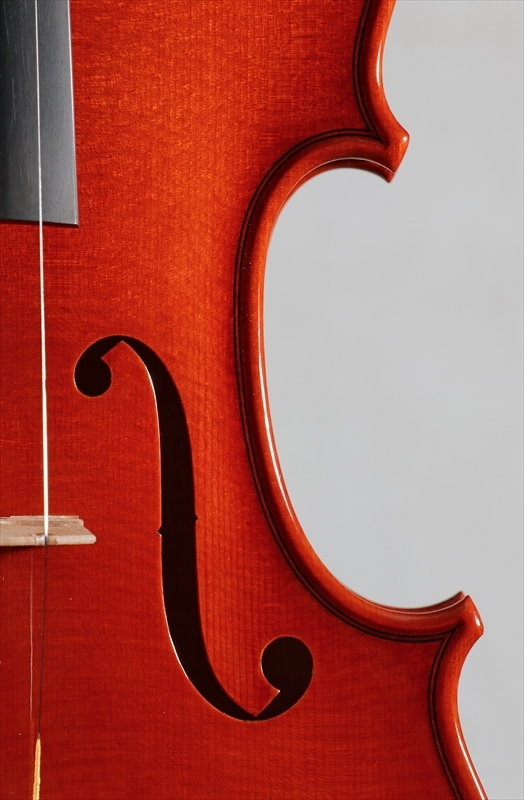 弦楽器フェアの展示楽器、最新作1台目_d0047461_08471958.jpg