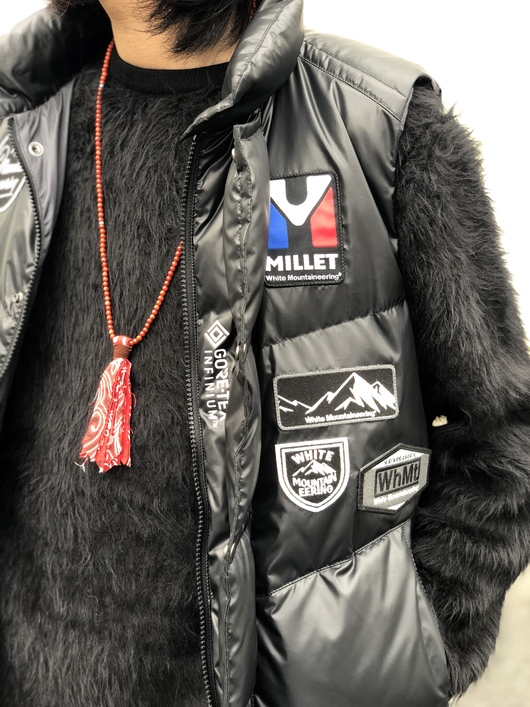 White Mountaineering × MILLET - DOWN VEST._f0020773_2065616.jpg