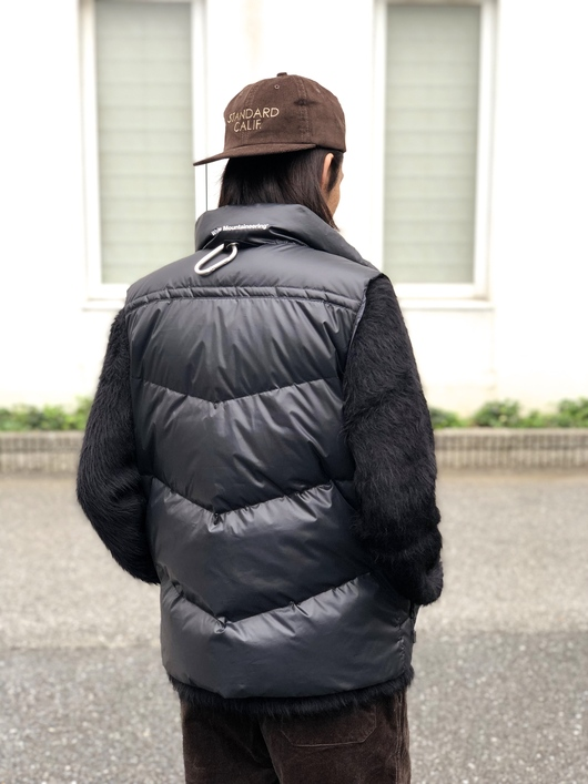 White Mountaineering × MILLET - DOWN VEST._f0020773_206739.jpg