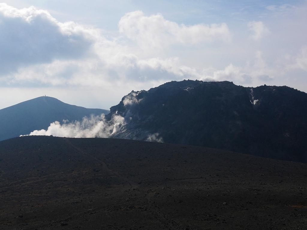樽前山、2019.10.24_f0138096_12524459.jpg
