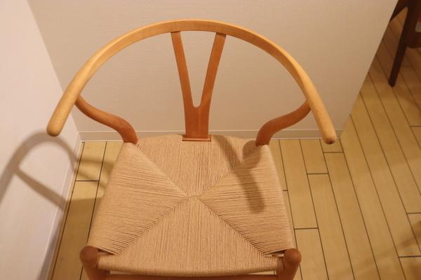 Y-chairのペーパーコードの張替えです。_f0176205_12185515.jpg