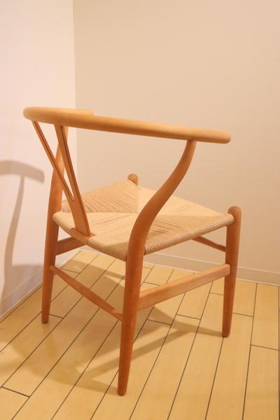 Y-chairのペーパーコードの張替えです。_f0176205_12190140.jpg