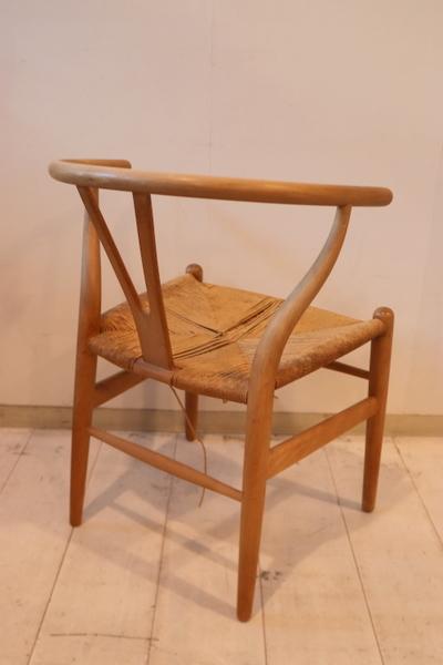 Y-chairのペーパーコードの張替えです。_f0176205_12190432.jpg