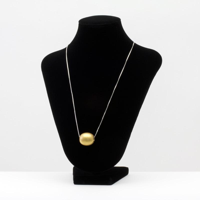 身につける漆 漆のアクセサリー ペンダント 森の実 金流星色 スライド式ボックスチェーンコード 坂本これくしょんの艶やかで美しくとても軽い和木に漆塗りのアクセサリー SAKAMOTO COLLECTION wearable URUSHI accessories pendants Jewel of Forest Gold Meteor Color Box Chain Cord Adjustable 小振りでころんと小さめなつや玉の形、流星のようなキラ感を持たせた光沢のある日本人の肌に合う上品なゴールドカラー、スライド式コードは思い通りに微妙な長さ調節が可能です。 #ペンダント #森の実 #金流星色 #スライド式コード #ボックスチェーン #軽いペンダント #pendants #JewelOfForest #MeteorColor #BoxChain #AdjustableCord