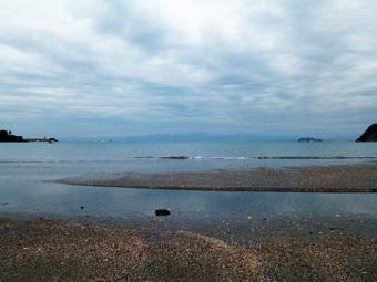 今朝は逗子海岸を走りました。_c0195909_16130231.jpg