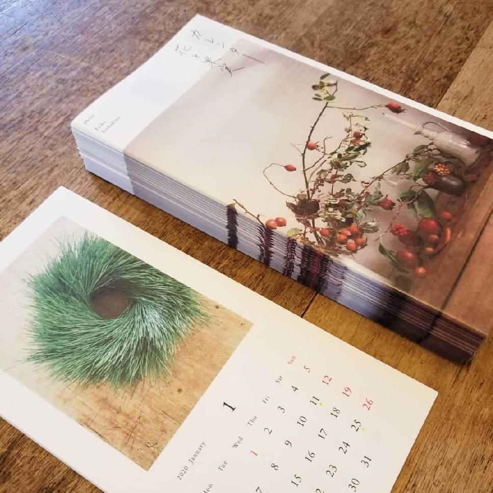 椿野恵里子さんのカレンダー「花と果実2020」_f0120026_18091741.jpg