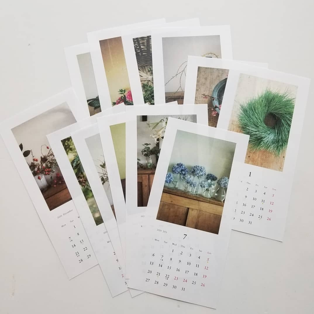 椿野恵里子さんのカレンダー「花と果実2020」_f0120026_18091823.jpg