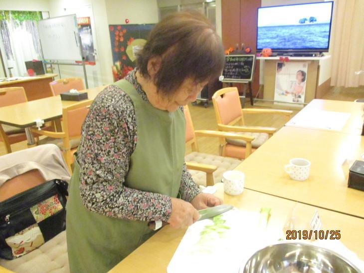 メル・グラン 芋煮会_b0131135_18093621.jpg