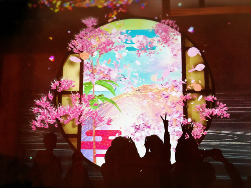 flowers BY NAKID (二条城)_e0292546_02265201.jpg