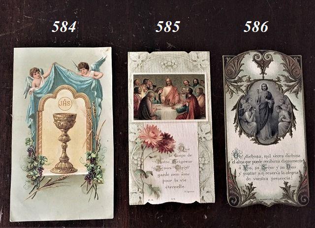 ホーリーカード(聖人のカード、エスタンパ)_f0112550_05504463.jpg
