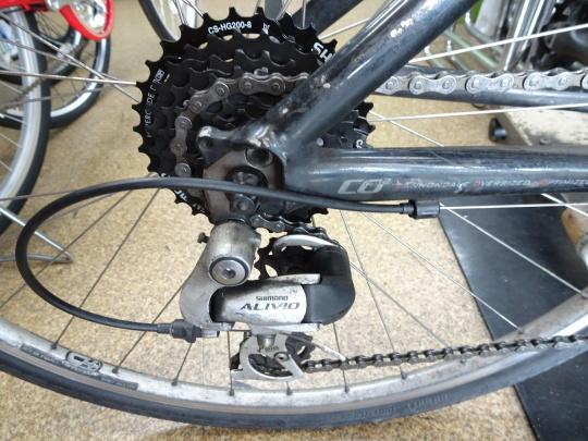 クロスバイクのカスタム~_e0140354_15590835.jpg