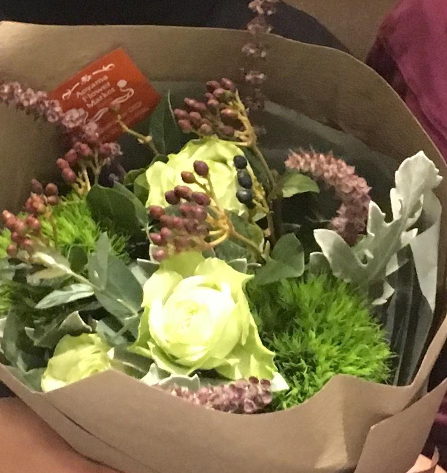 Fastiive bouquet  お嫁さんにエール♪_a0165160_11230122.jpg