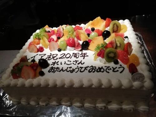 レイア20周年記念パーティー_c0229062_17214226.jpg