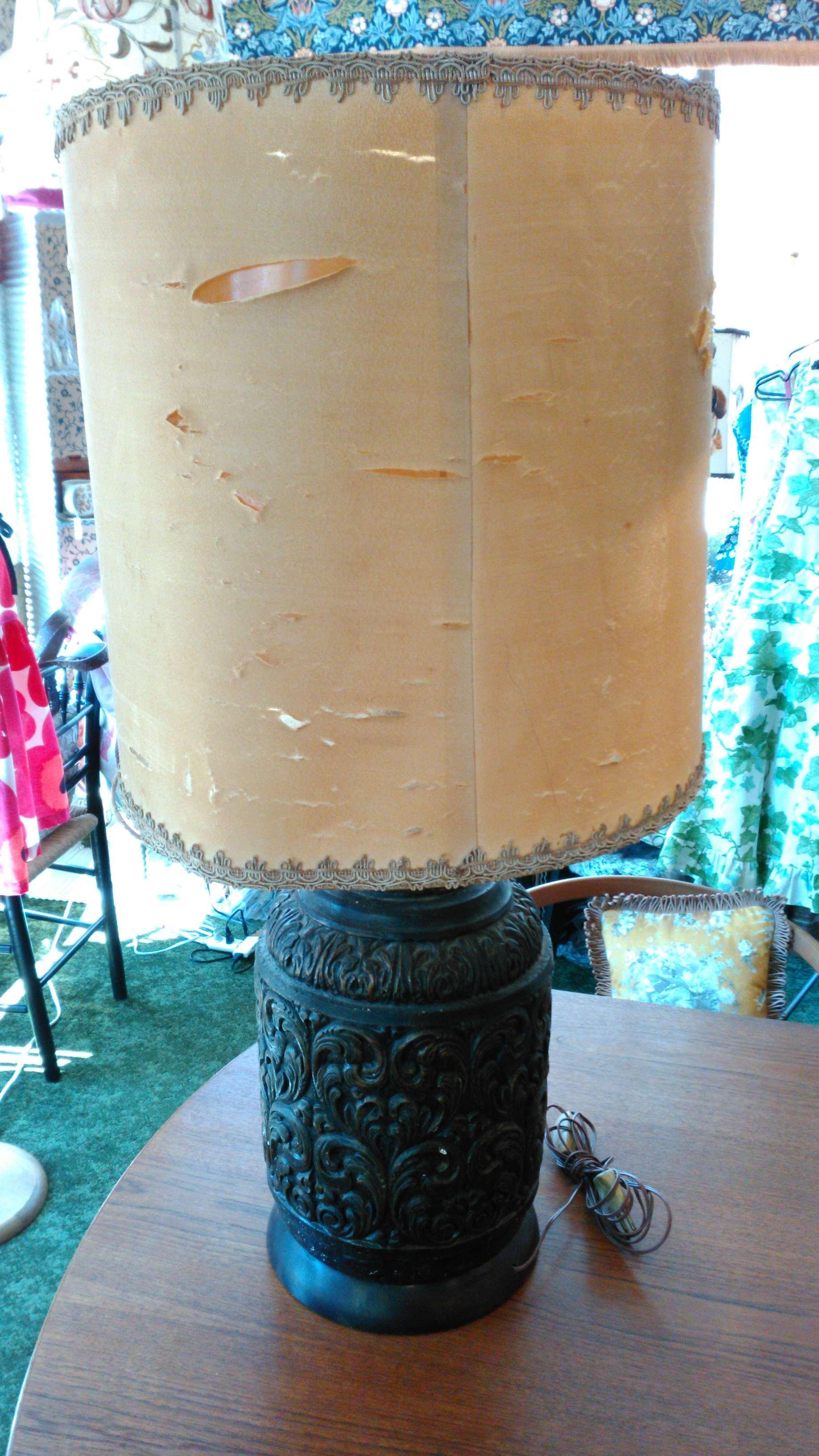 ランプシェード張替・修理 モリス『マリーゴールド』 ウィリアムモリス正規販売店のブライト_c0157866_17334922.jpg