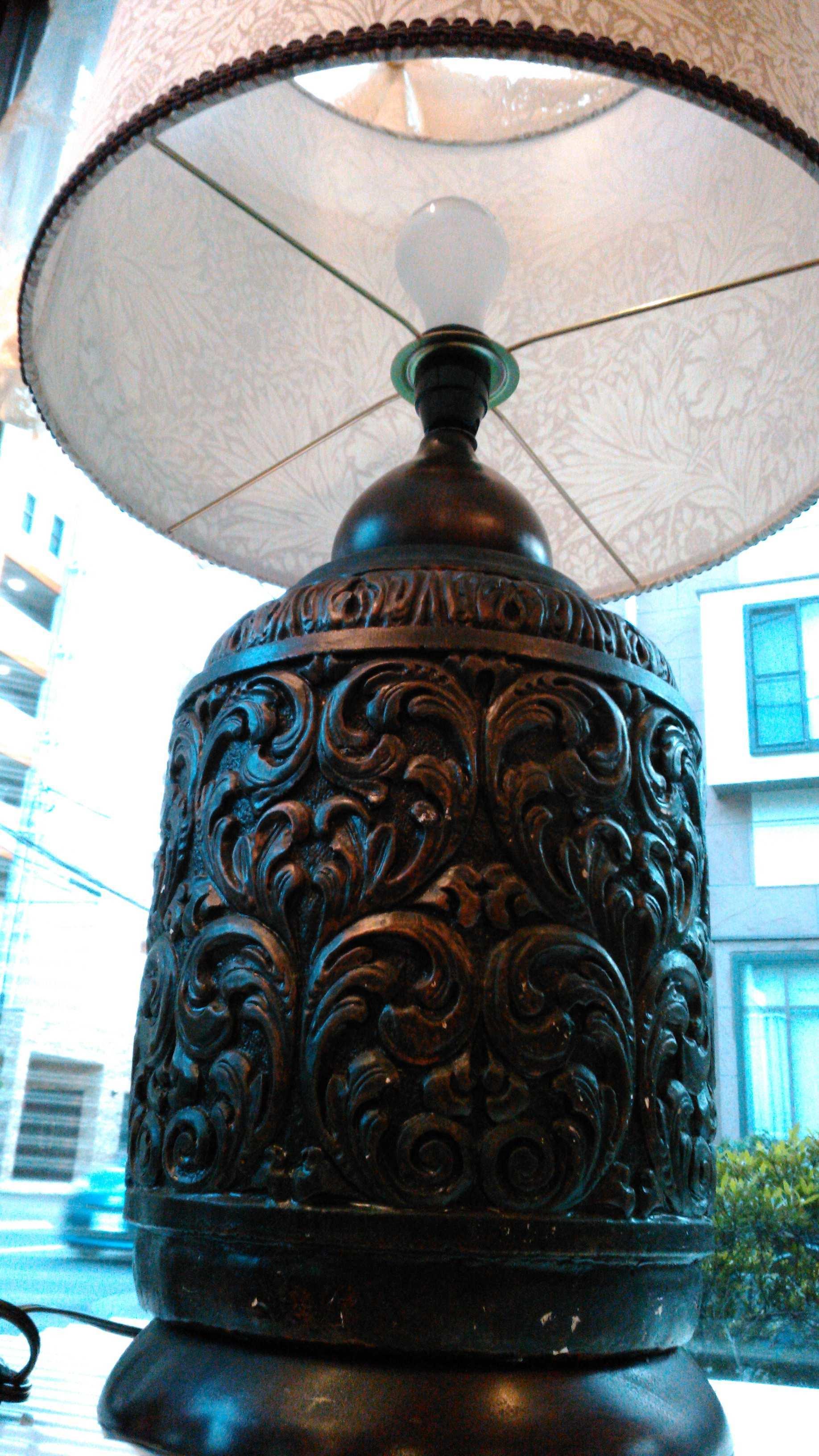 ランプシェード張替・修理 モリス『マリーゴールド』 ウィリアムモリス正規販売店のブライト_c0157866_17365438.jpg
