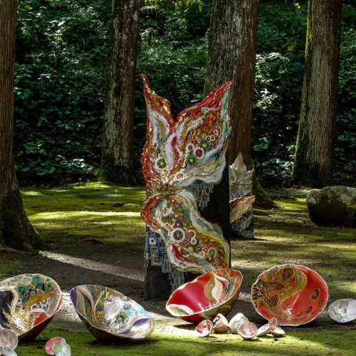 🎨DENKEN ART 記録🎨 現代アートのアーティスト小松孝英氏プロデュースで、2019のDENKEN ARTに参加させて頂きました💓 _d0235276_09282259.jpg